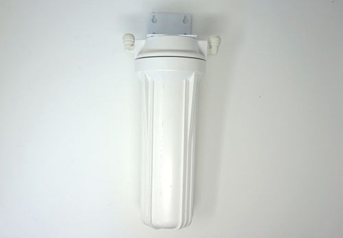 White Housing Filter with Bracket